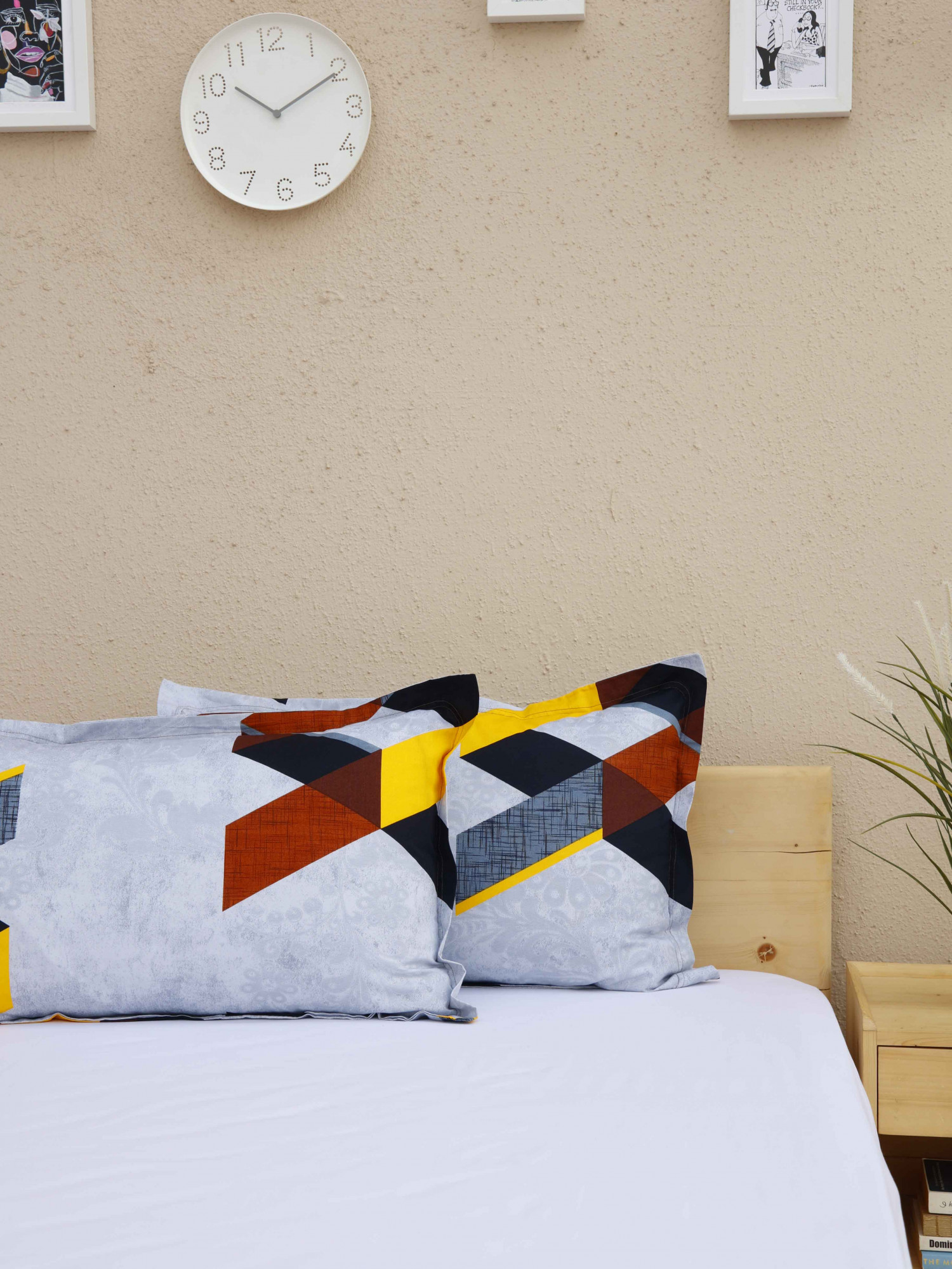 Printed Pillow Covers D9