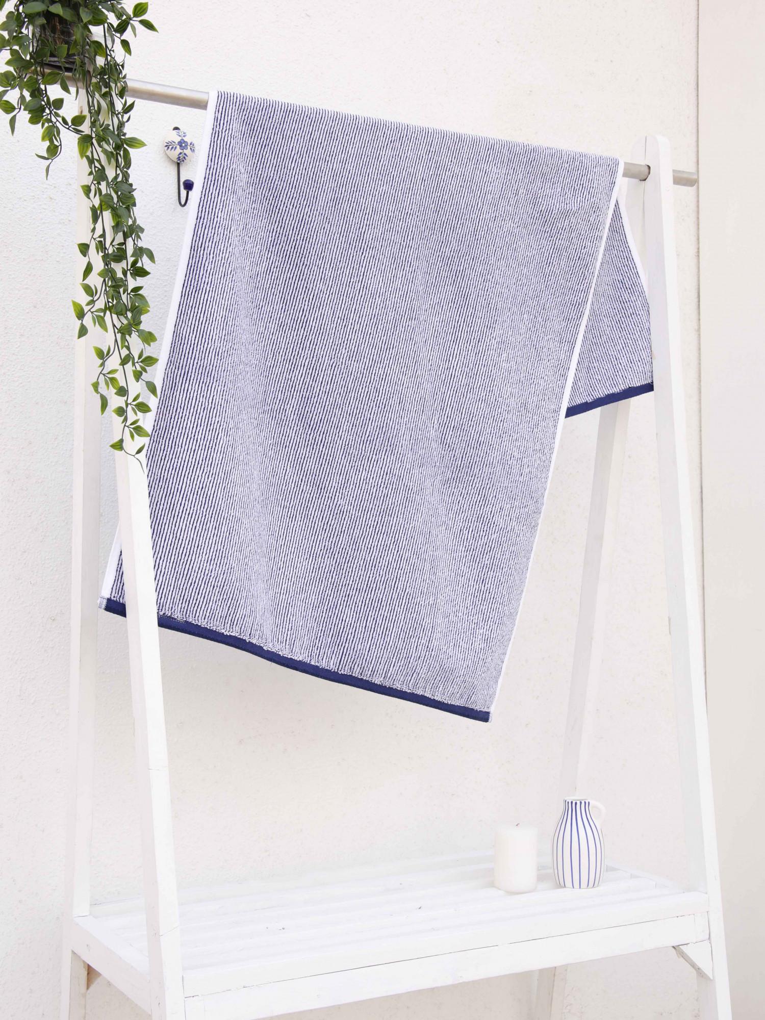 Indulgence Stripe D2 Towel