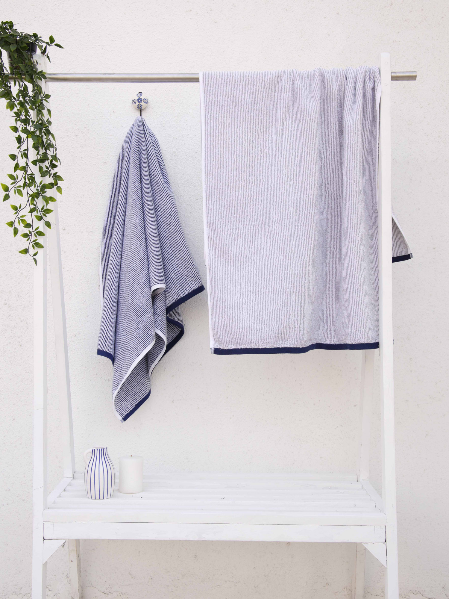Indulgence Stripe D2 Towels