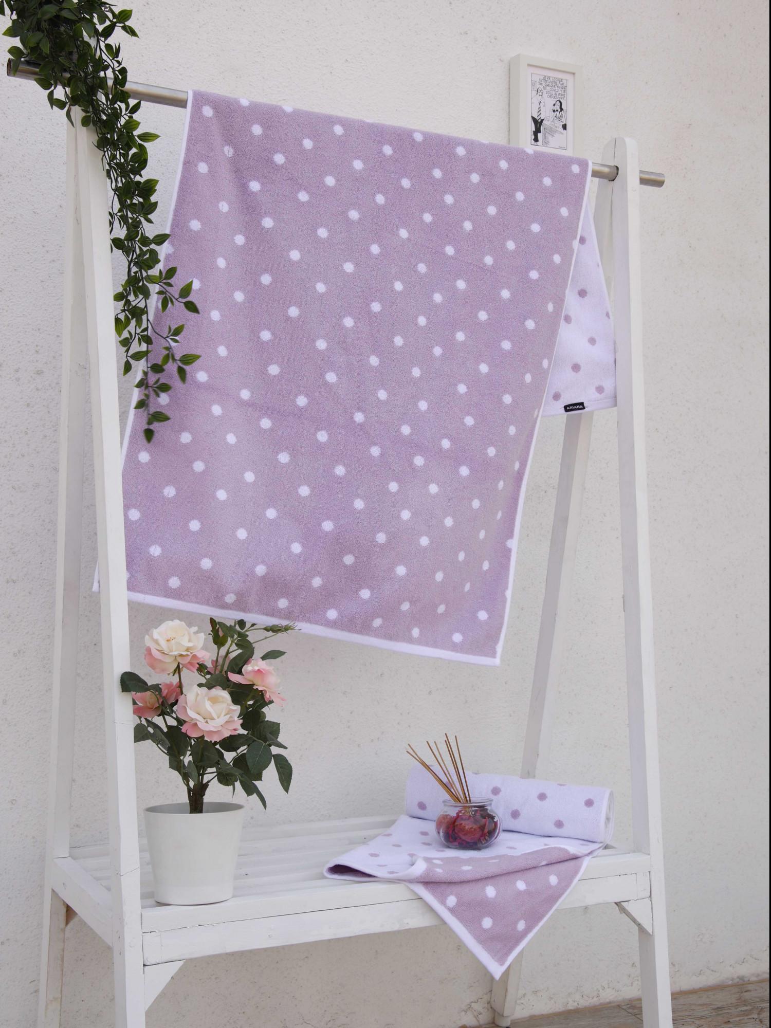 Majestic Polka Dots D1 Towel