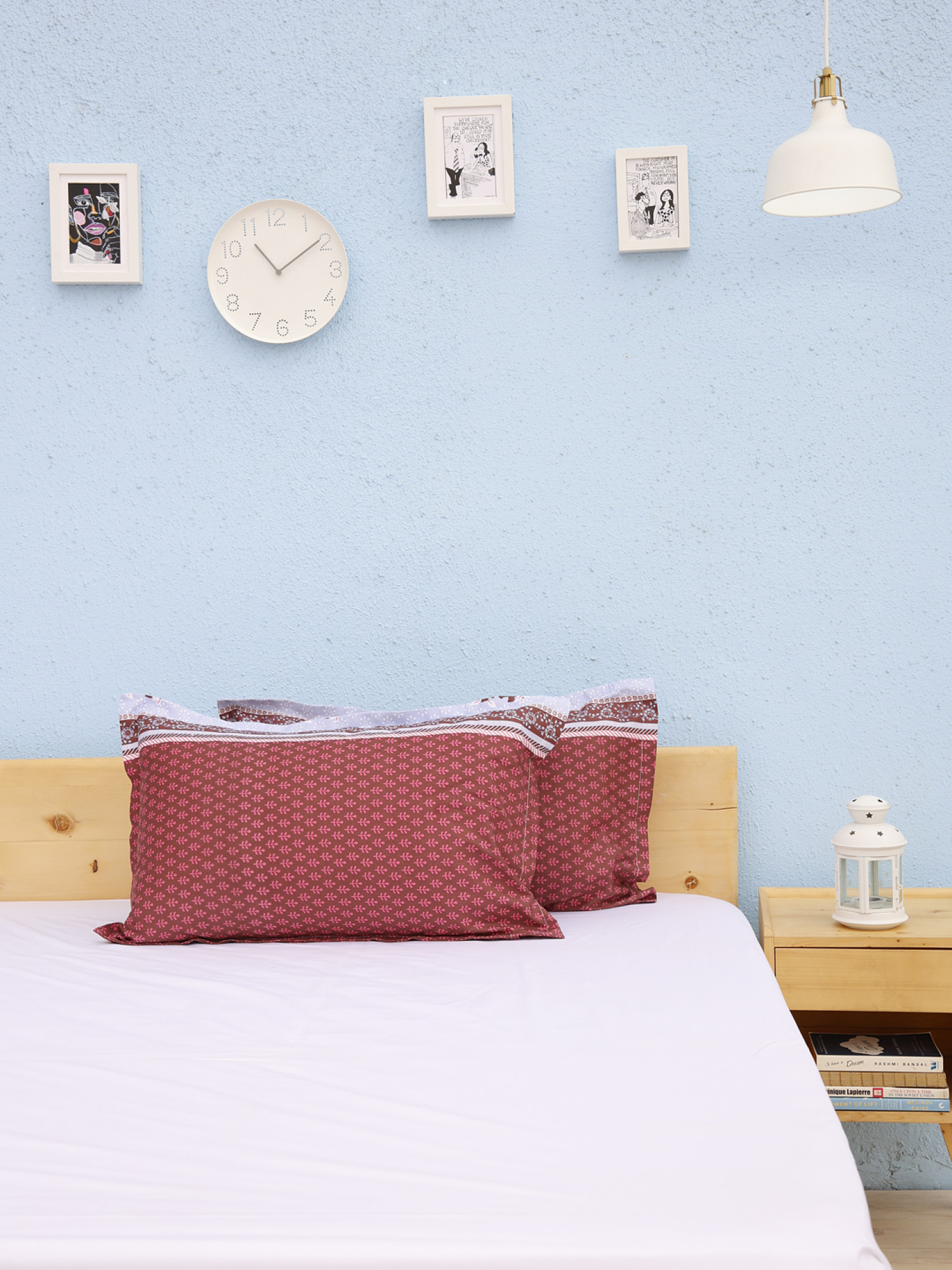 Printed Pillow Covers D15