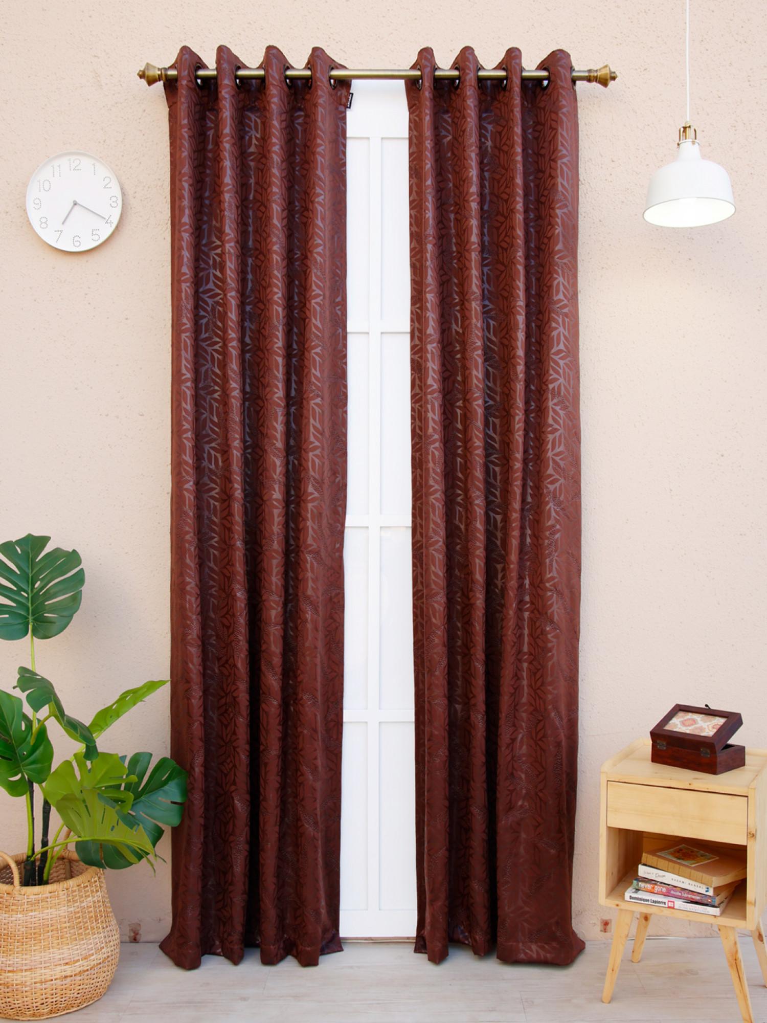 Torenia Embossed Curtain