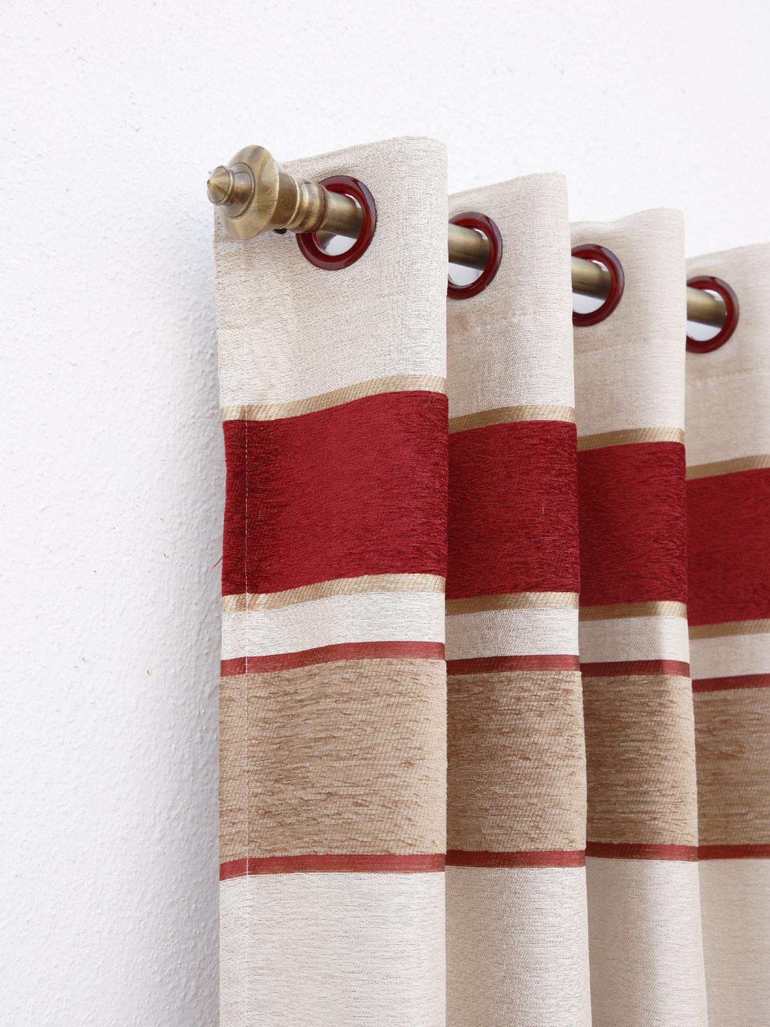 Clone Geometric design Curtain