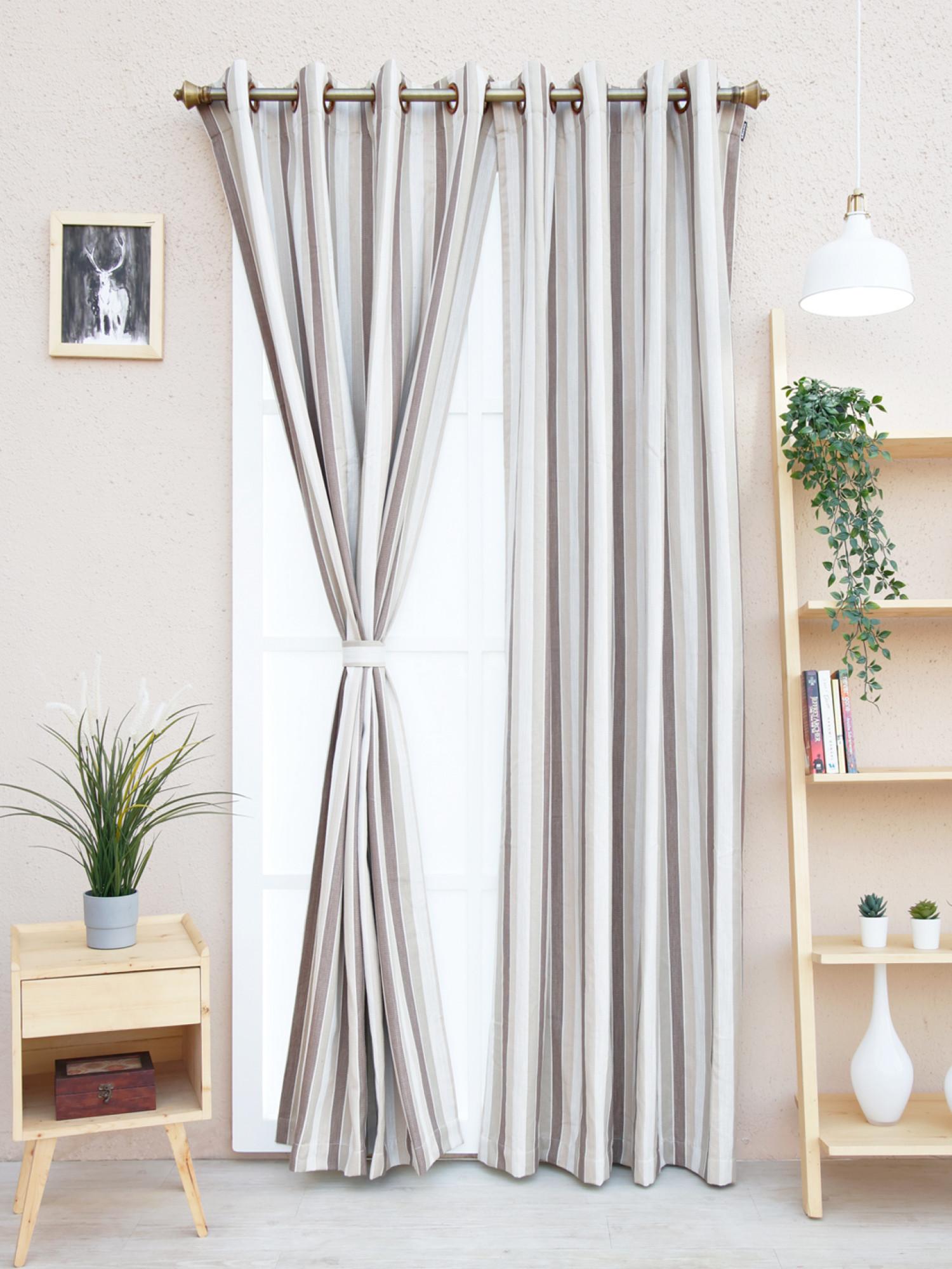 Mirabilis Stripes Curtain