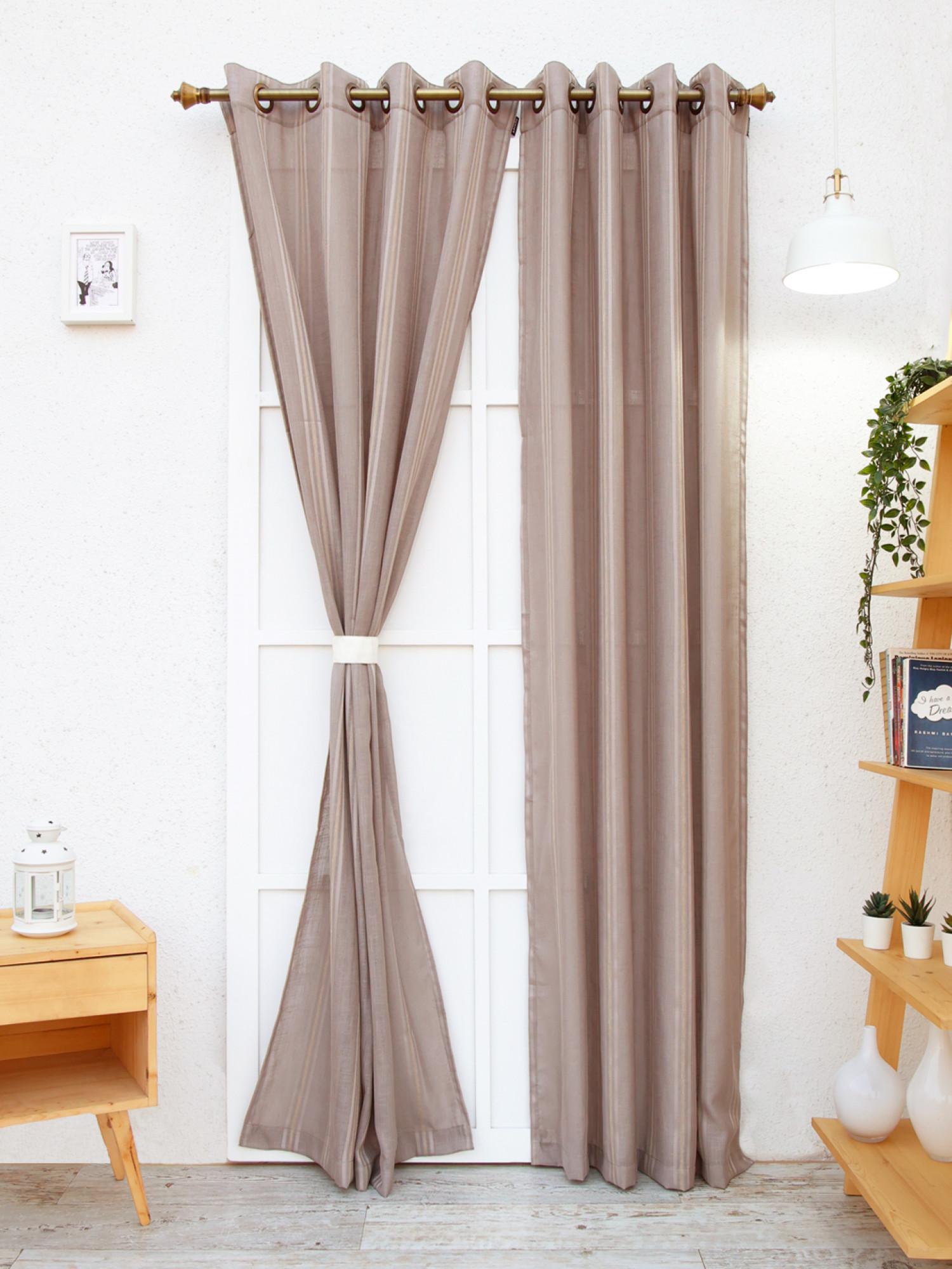 Leadwort Sheer Curtain