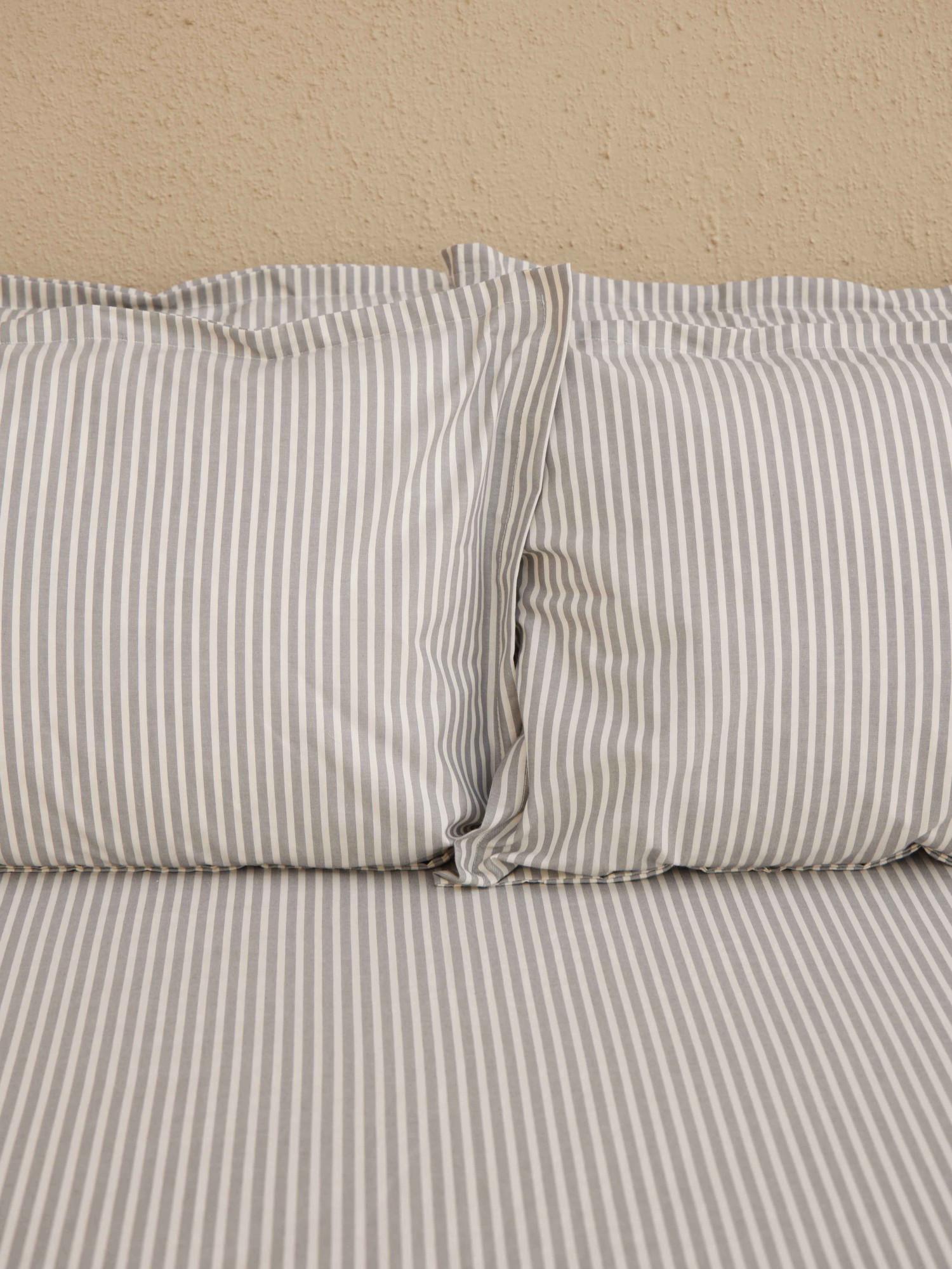 Stripe Printed Bedsheet