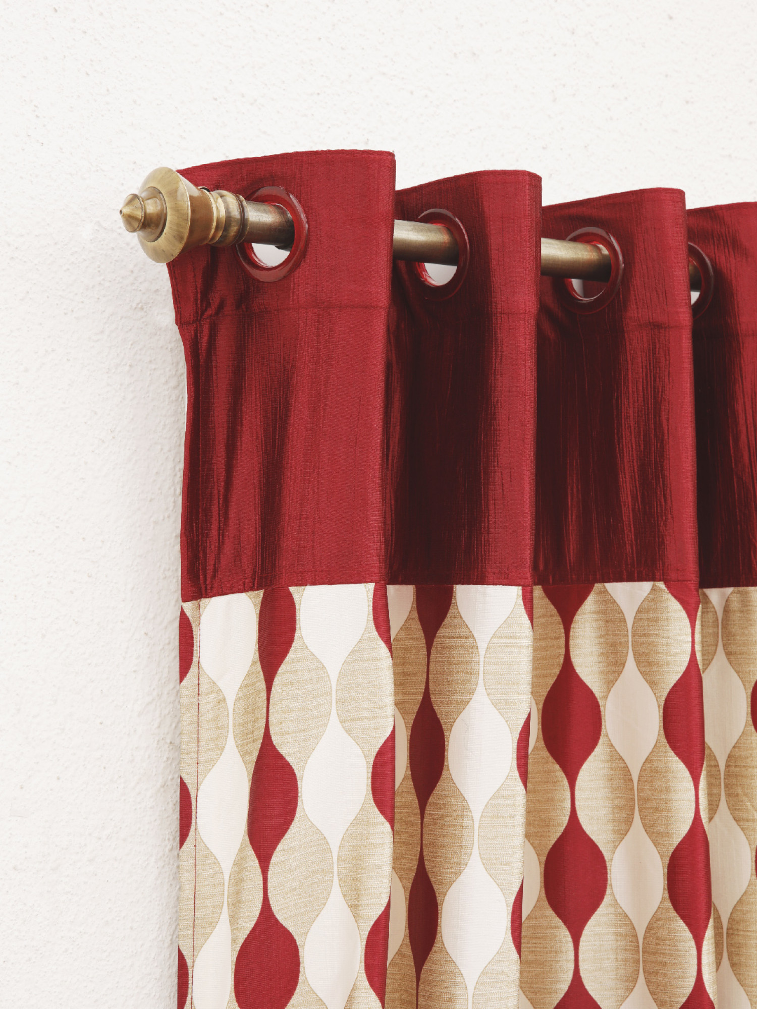 Chives Moroccan Design Curtain