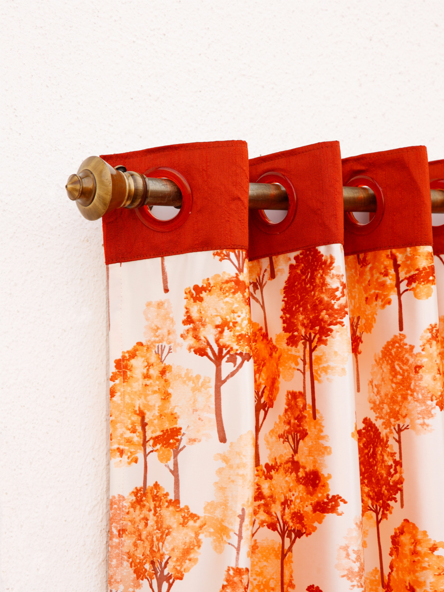 Forest Flame Curtain