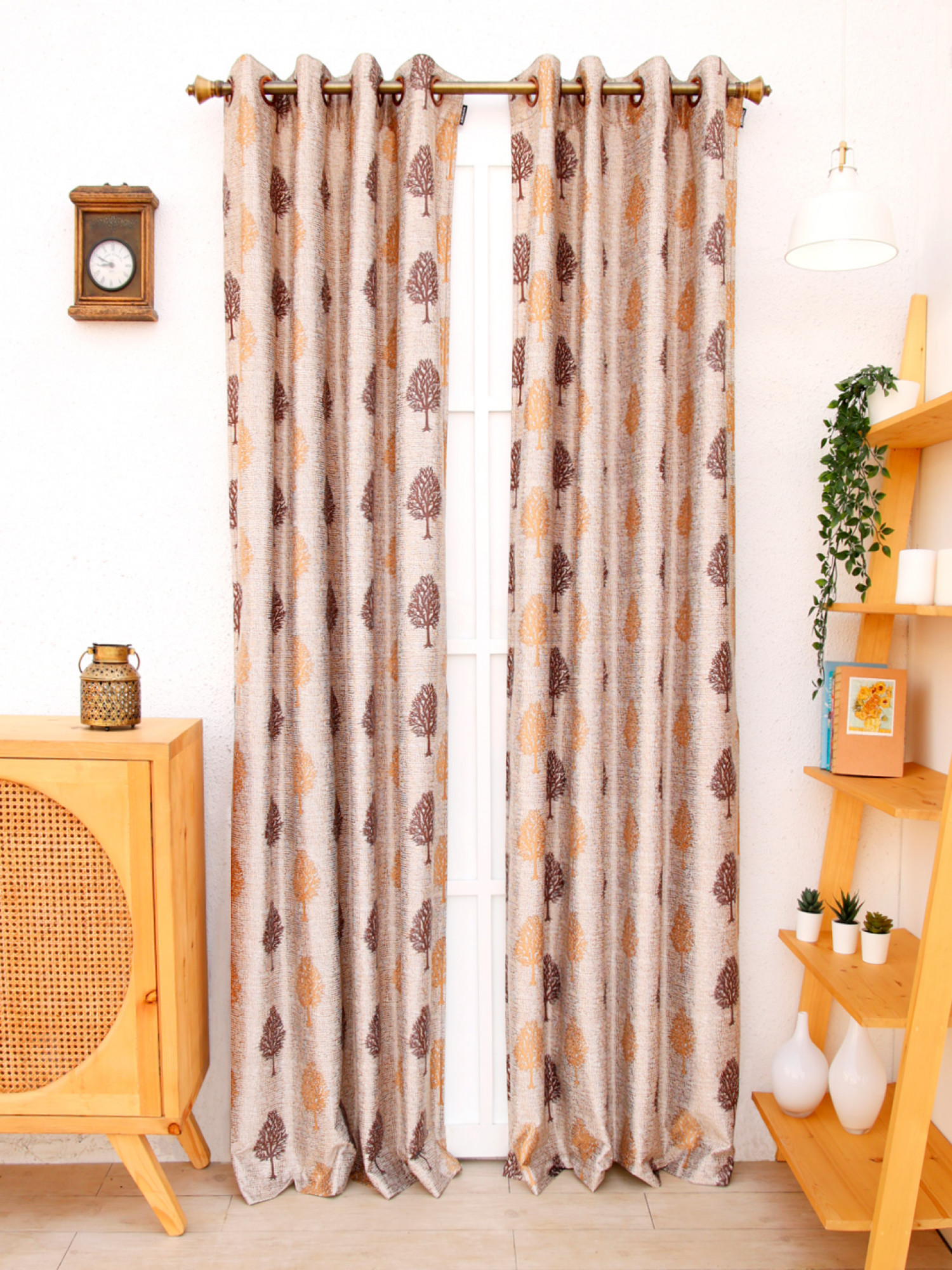 Petunia Curtain