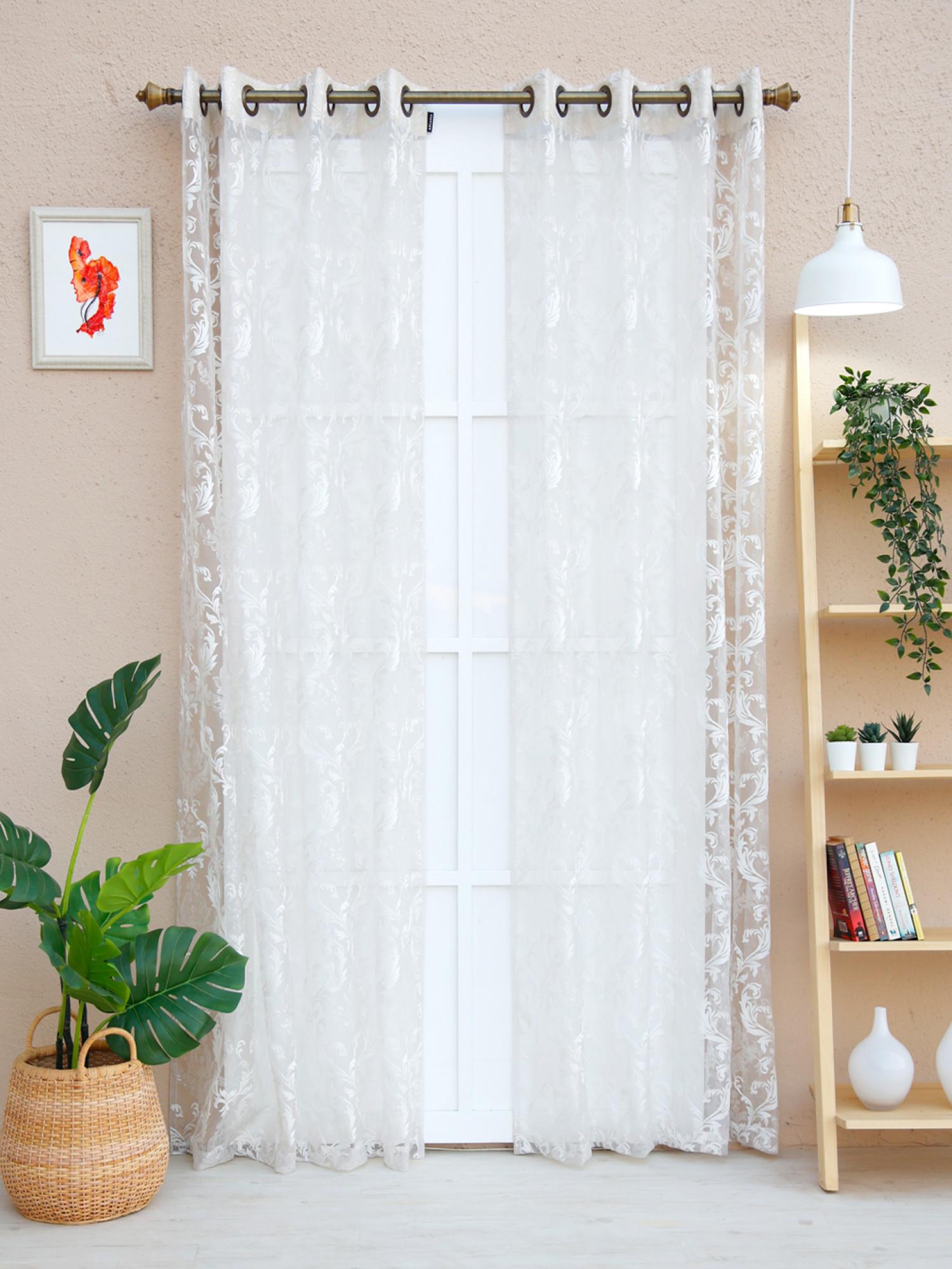 Coleus  Sheer Curtain
