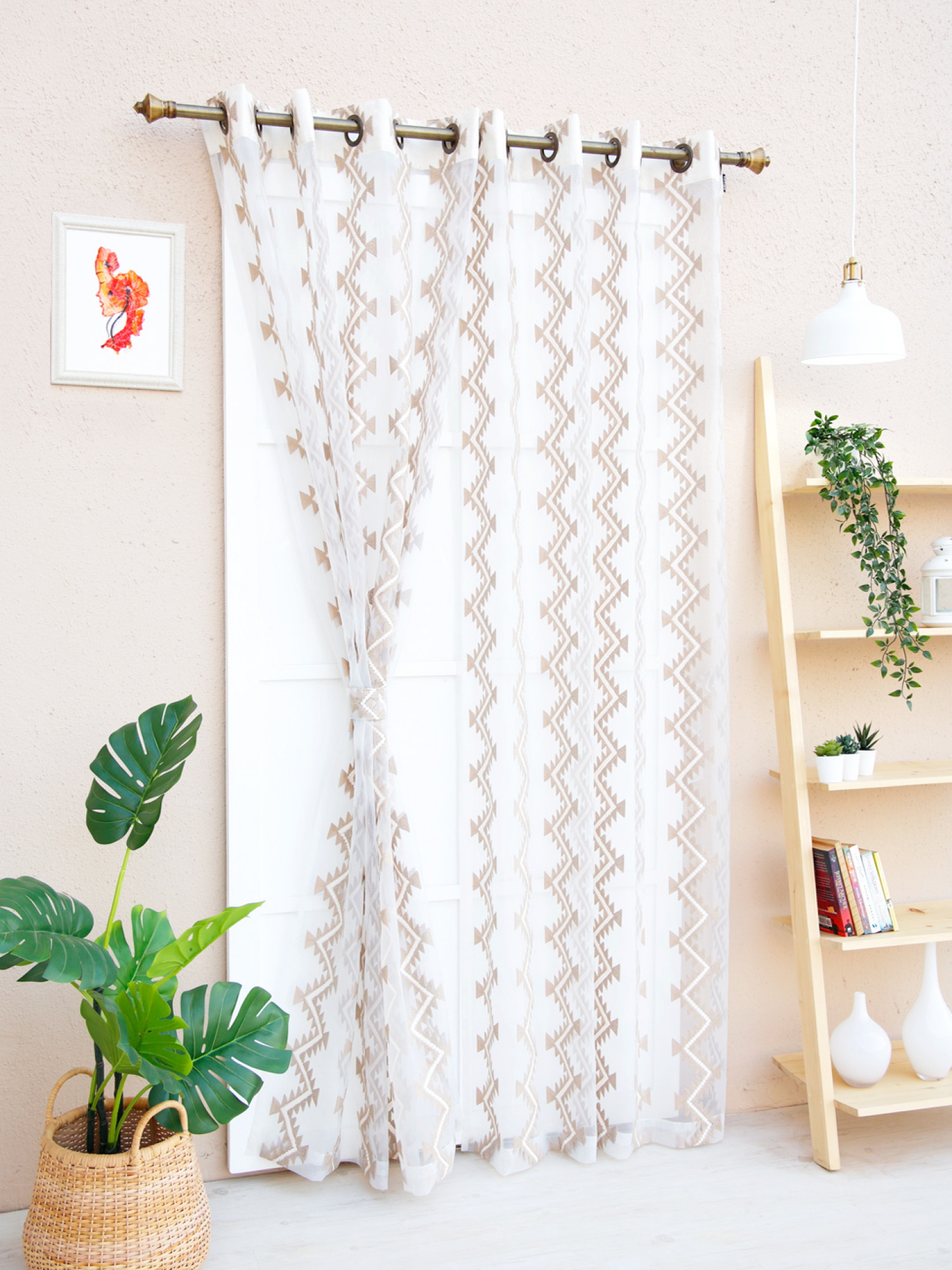 Wisteria Sheer Curtain