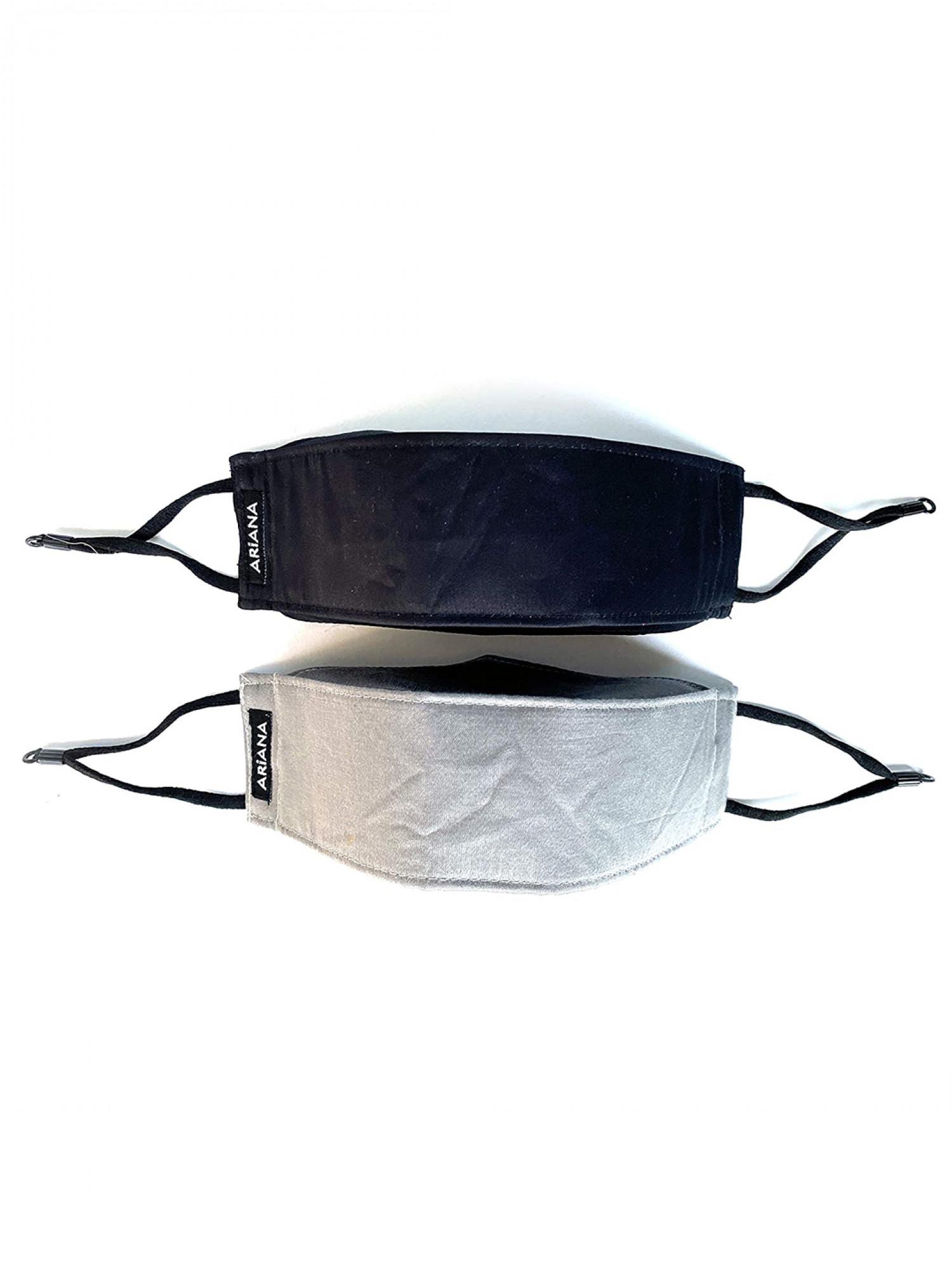 3D Black & Grey - 7 Layer Mask 99% Safe