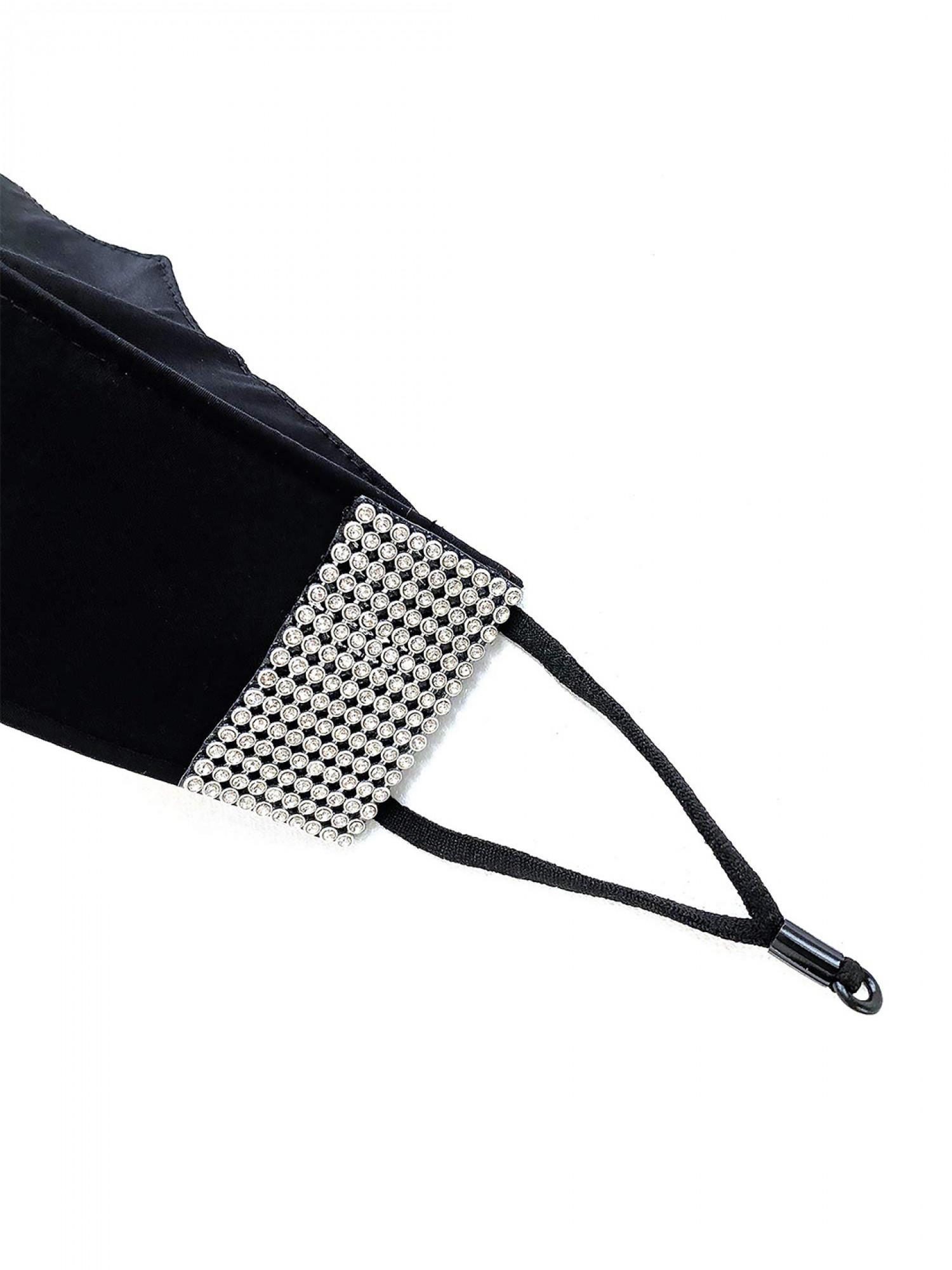 3D Bling Diamond Work Mask - 7 Layer Mask 99% Safe