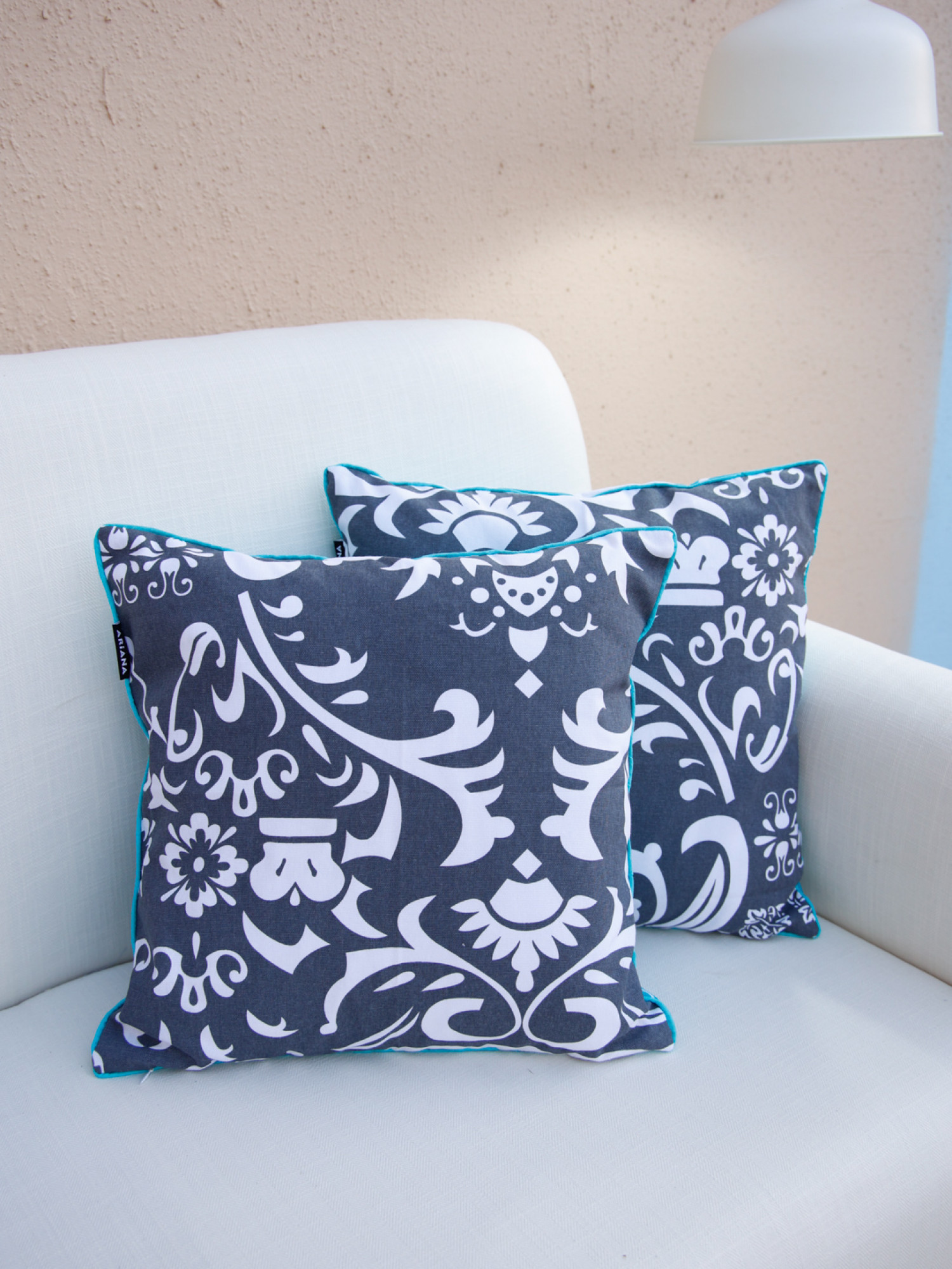 Moroccan Reversible Cushion Cover