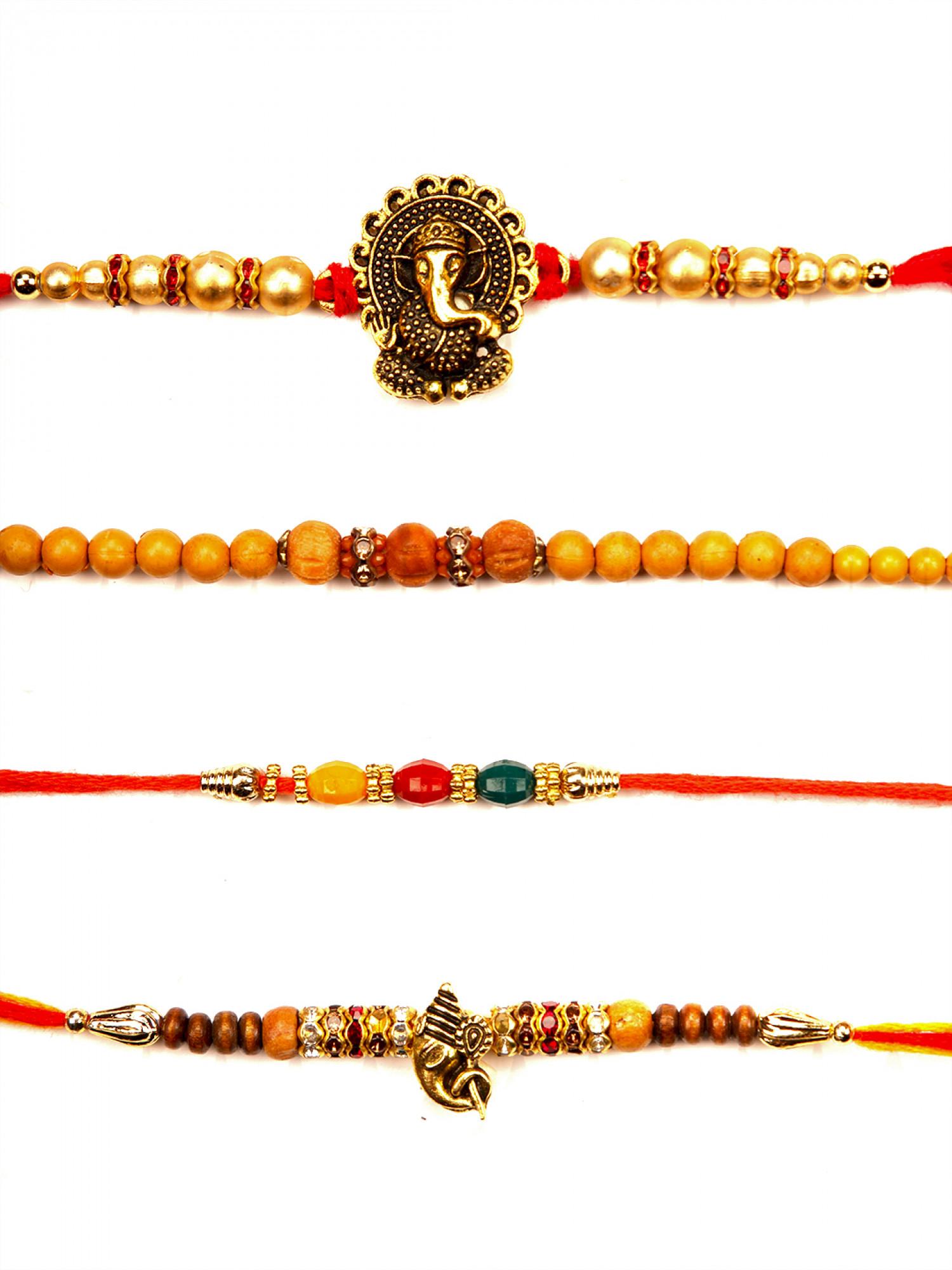 Designer Rakhi - Set of 4