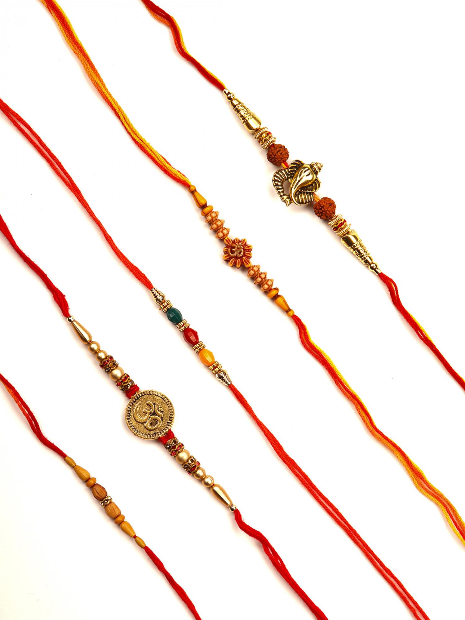 Designer Rakhi - Set of 5
