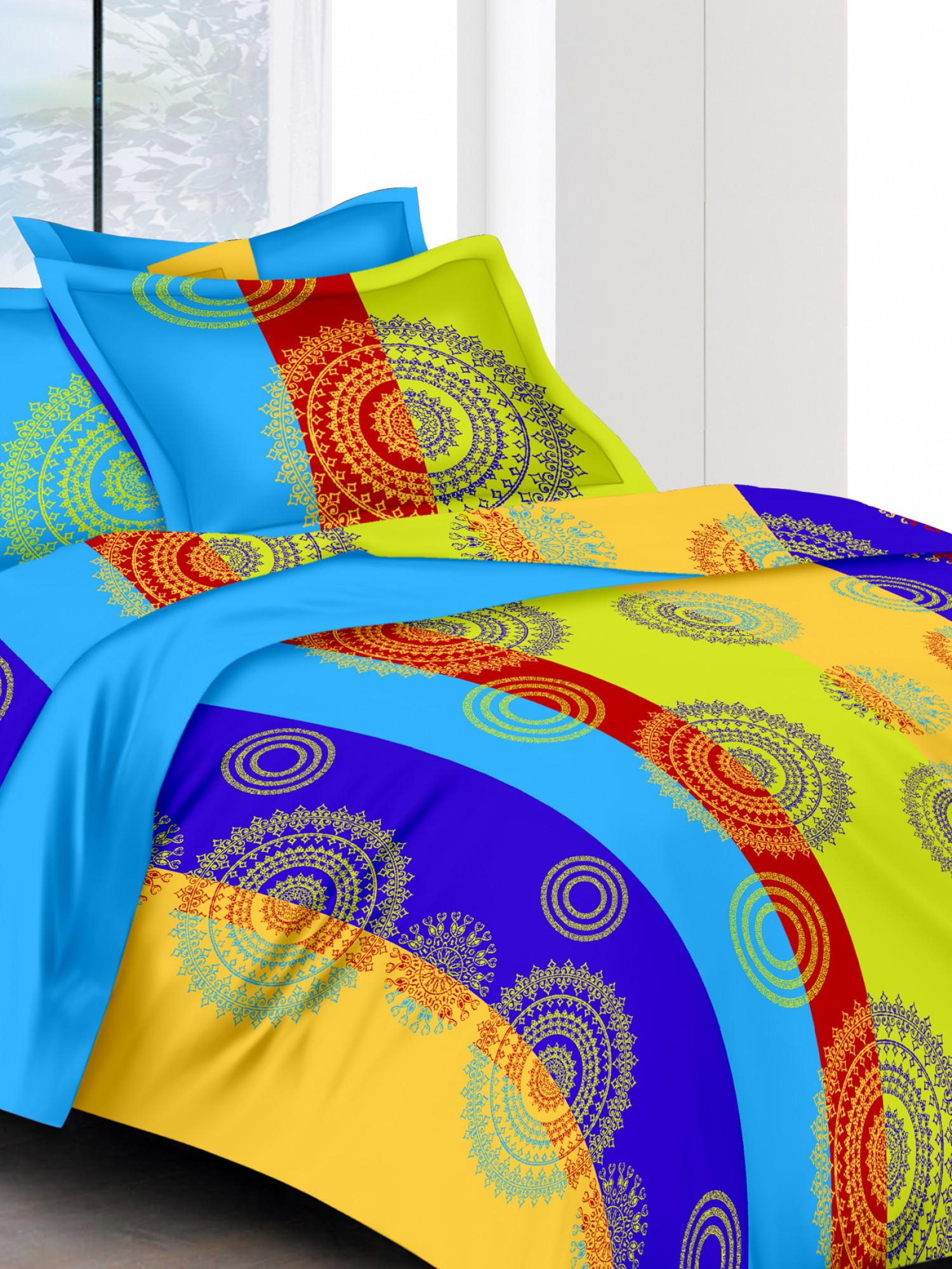 abstract bedsheet